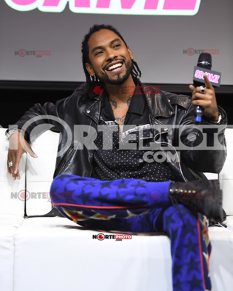 HOLLYWOOD, FL - NOVEMBER 13: Miguel attends Jamz Live at radio station 99 Jamz on November 13, 2017 in Hollywood, Florida. Credit: mpi04/MediaPunch /NortePhoto.com