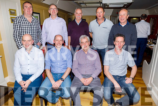 Enjoying a night out in the Brogue Inn on Saturday night.<br /> Seated l to r: Ed Duggan, Sean Murphy, Martin Galvin and Pa Dennehy.<br /> Back l to r: Denis Tobin, Jermiah Davis, Martin Tigue, John Connor and Arthur Tyther