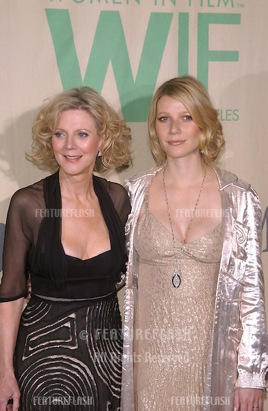 Actresses BLYTHE DANNER (left) & daughter GWYNETH PALTROW at the Women in Film 2004 Lucy and Crystal, in Los Angeles. The event was also a celebration of the Paltrow Family..June 18, 2004