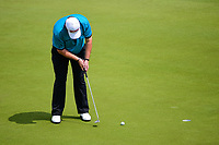 Shane Lowry (IRL) barely misses his putt on 16 during round 3 of the World Golf Championships, Dell Technologies Match Play, Austin Country Club, Austin, Texas, USA. 3/24/2017.<br /> Picture: Golffile | Ken Murray<br /> <br /> <br /> All photo usage must carry mandatory copyright credit (&copy; Golffile | Ken Murray)