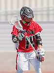 Palos Verdes, CA 03/26/16 - Brendan Wilson (San Clemente #14) in action during the CIF Boys Lacrosse game between San Clemente Tritons and the Palos Verdes Seakings at Palos Verdes High School.  Palos Verdes defeated San Clemente 11-6