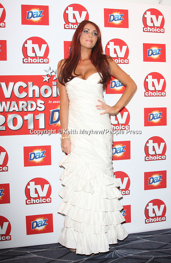 London - TV Choice Awards held at the Savoy Hotel, London - September 13th 2011..Photo by Keith Mayhew