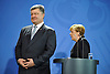 feb.01-16,The  President of Ukraine, Petro Poroschenko after media meeting with German Chanceelor An