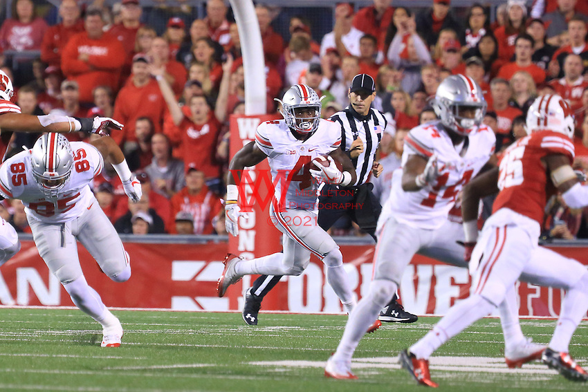 The Ohio State University football team defeats the Wisconsin Badgers in overtime 30-23. October 15,2016<br /> (Photo by Walt Middleton Photography 2016)