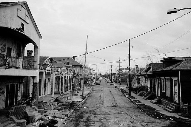 New Orleans, Louisiana.USA.February 23, 2006..Housing in the 7th ward........