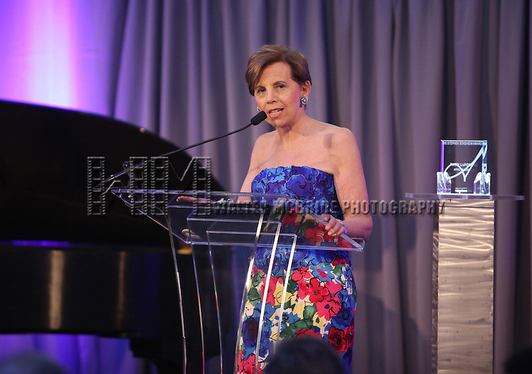 Adrienne Arsht.performing at the Signature Theatre Stephen Sondheim Award Gala honoring Patti Lupone at the Embassy of Italy in Washington D.C. on 4/16/2012.