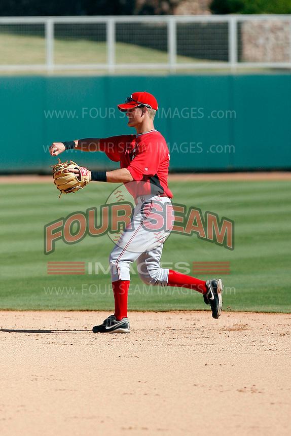Alex Buchholz - Cincinnati Reds 2009 Instructional League. .Photo by:  Bill Mitchell/Four Seam Images..