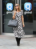 Celebrities at the Global Radio Studios, Leicester Square, UK on Wednesday 9th September 2020<br /> <br /> Photo by Keith Mayhew