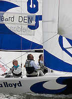 Medemblik - the Netherlands, May 26th 2010. Delta Lloyd Regatta in Medemblik (26/30 May 2010). Day 2, Matchracing.
