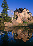 Saint Catherine of Sienna Chapel, St Malo, Rocky Mountains, Colorado, USA