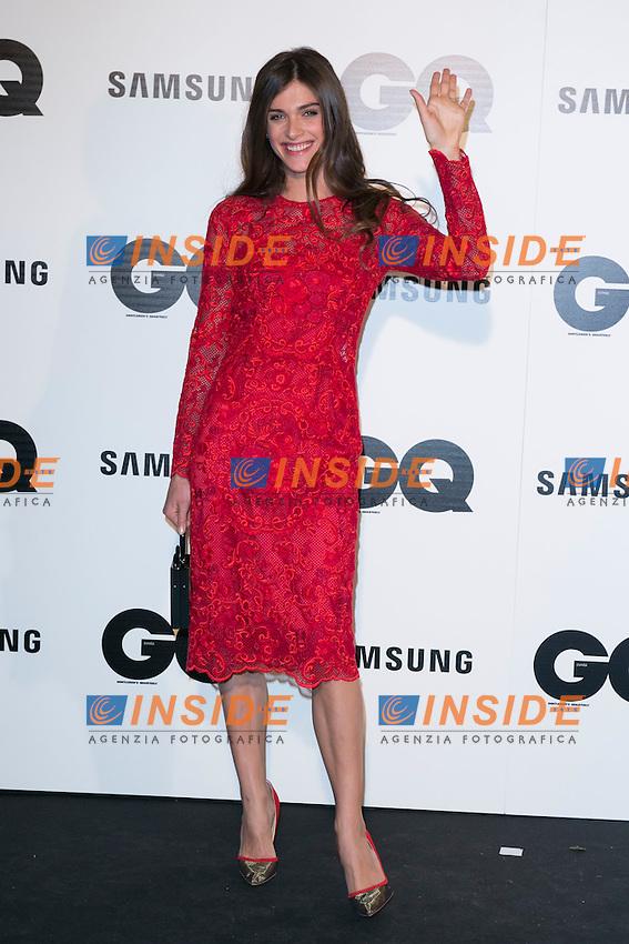 "Elisa Sednaoui attends the ""GQ AWARDS"" at Palace Hotel in Madrid, Spain. November 3, 2014. (ALTERPHOTOS/Carlos Dafonte/Insidefoto)"