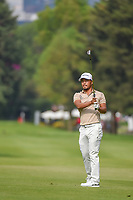 Satoshi Kodaira (JPN) watches his approach shot on 6 during round 3 of the World Golf Championships, Mexico, Club De Golf Chapultepec, Mexico City, Mexico. 2/23/2019.<br /> Picture: Golffile | Ken Murray<br /> <br /> <br /> All photo usage must carry mandatory copyright credit (© Golffile | Ken Murray)