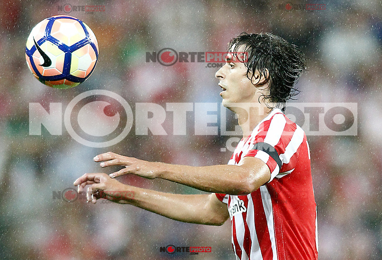 Athletic de Bilbao's Ander Iturraspe during La Liga match. August 28,2016. (ALTERPHOTOS/Acero) /NORTEPHOTO
