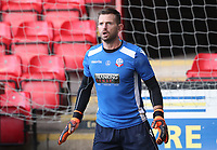 Bolton Wanderers' Mark Howard during the pre-match warm-up <br /> <br /> Photographer Rachel Holborn/CameraSport<br /> <br /> The Carabao Cup - Crewe Alexandra v Bolton Wanderers - Wednesday 9th August 2017 - Alexandra Stadium - Crewe<br />  <br /> World Copyright &copy; 2017 CameraSport. All rights reserved. 43 Linden Ave. Countesthorpe. Leicester. England. LE8 5PG - Tel: +44 (0) 116 277 4147 - admin@camerasport.com - www.camerasport.com