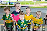 l-r  Patrick O'Sullivan, Clodagh O'Sullivan, Jonathan Galvin, Sean Og O'Leary and Ruben James O'Leary from Farranfore enjoying the Kerry GAA Night of Champions at the Kingdom Greyhound Stadium on Friday