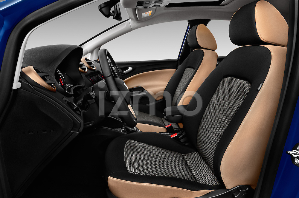 Front seat view of 2016 Seat Ibiza ST Style 5 Door Wagon Front Seat  car photos
