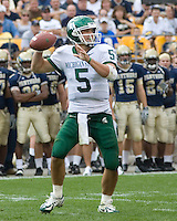 16 September 2006: Michigan State quarterback Drew Stanton (5)..The Michigan State Spartans defeated the Pitt Panthers 38-23 on September 16, 2006 at Heinz Field, Pittsburgh, Pennsylvania.