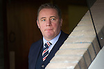 St Johnstone v Rangers...14.01.12  .Ally McCoist watches from the tunnel.Picture by Graeme Hart..Copyright Perthshire Picture Agency.Tel: 01738 623350  Mobile: 07990 594431
