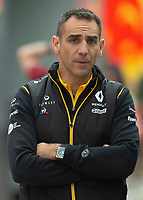 Cyril Abiteboul (RENAULT F1 TEAM) during the Formula 1 Rolex British Grand Prix 2019 at Silverstone Circuit, Towcester, England on 14 July 2019. Photo by Vince  Mignott.