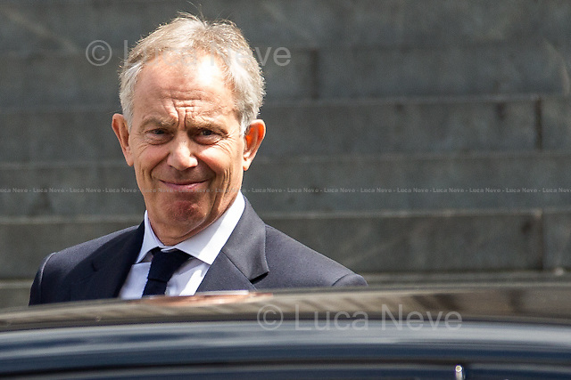 Tony Blair (Former British Prime Minister).<br />