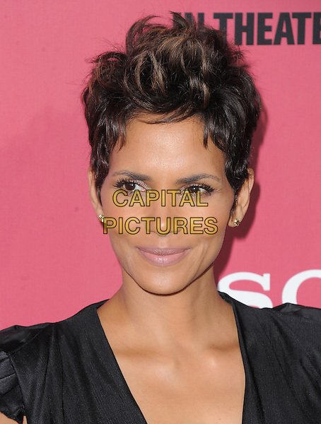 Halle Berry.'The Call' world film premiere, Arclight Cinemas, Hollywood, California, USA. 5th March 2013.headshot portrait black.CAP/DVS.©DVS/Capital Pictures