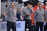 Spain coach Sergio Scariolo during FIBA European Qualifiers to World Cup 2019 between Spain and Slovenia at Coliseum Burgos in Madrid, Spain. November 26, 2017. (ALTERPHOTOS/Borja B.Hojas)