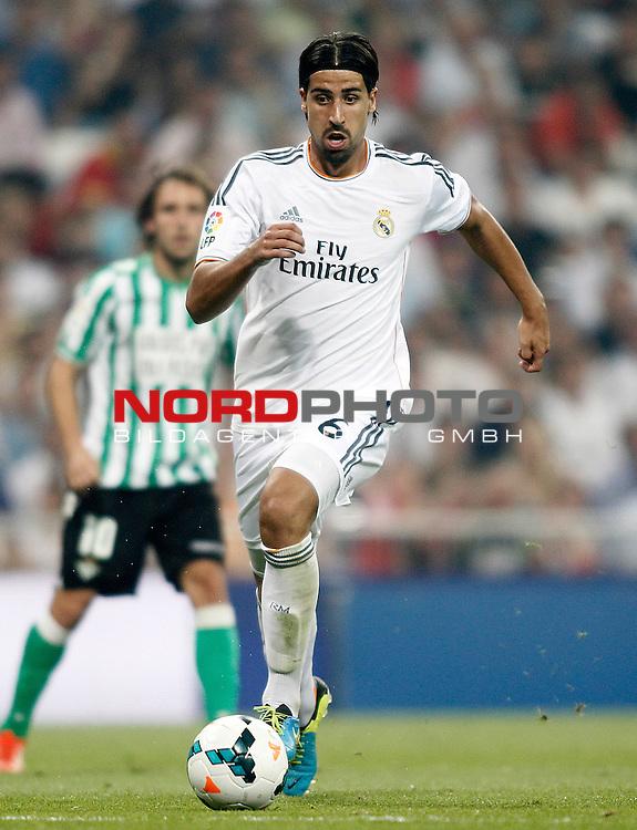 Real Madrid's Sami Khedira during La Liga match.August 18,2013. Foto © nph / Acero)