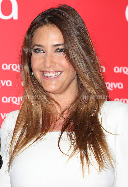 Lisa Snowdon arriving at the Arqiva Commercial Radio Awards 2012.London, England. 04/07/2012 Picture by: Henry Harris / Featureflash....