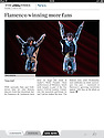 Ballet Flamenco de Andalucia, The Times iPad, 23 Mar 2013