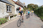 Gallery of photos taken during the Isle of Wight Cycling Festival on 2014-09-23 . Ride Number 41,  Back O' The Wight<br />