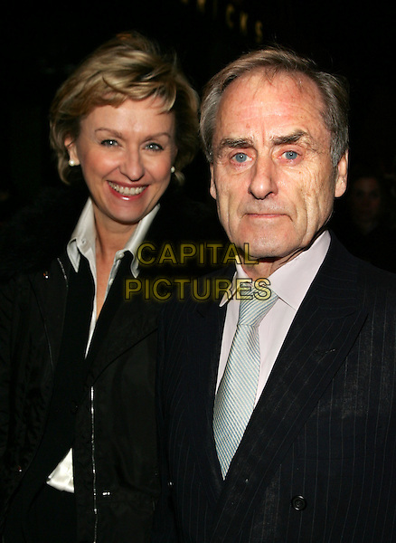 "TINA BROWN & HARRY EVANS.Premiere of ""The Three Burials of Melquiades Estrada"" at the Paris Theatre, New York, NY.  .December 12th, 2005.Photo: Jackson Lee/Admedia/Capital Pictures.Ref: JL/ADM.headshot portrait.www.capitalpictures.com.sales@capitalpictures.com.© Capital Pictures."