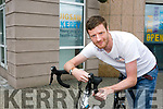 Donagh Hennebry of Jigsaw Kerry who is  taking part in   the Giro D'Jigsaw, a 3 day, 470km cycle from Galway to Dublin and back to Galway taking place from Friday 29th September to Sunday 1st October to raise vital funds to support young people with their mental health