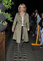 """Faye Tozer at the """"Everybody's Talking About Jamie"""" theatre cast stage door departures, Apollo Theatre, Shaftesbury Avenue, London, England, UK, on Friday 10th May 2019.<br /> CAP/CAN<br /> ©CAN/Capital Pictures"""