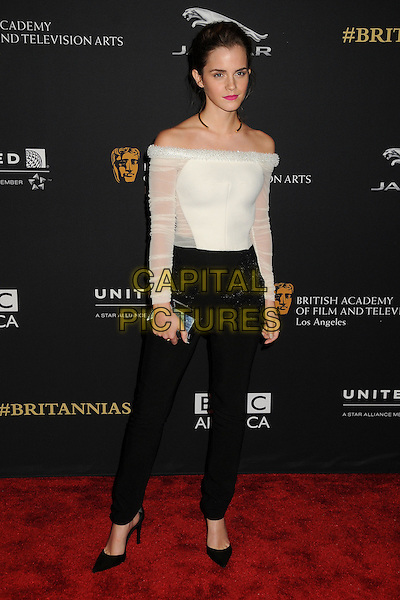 30 October 2014 - Beverly Hills, California - Emma Watson. BAFTA Britannia Awards 2014 held at the Beverly Hilton Hotel.  <br /> CAP/ADM/BP<br /> &copy;Byron Purvis/AdMedia/Capital Pictures