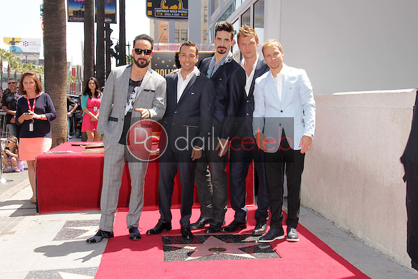 AJ McLean, Howie Dorough, Kevin Richardson, Nick Carter, Brian Littrell<br />