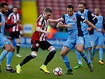 Caolan Lavery of Sheffield Utd during the Emirates FA Cup Round One match at Bramall Lane Stadium, Sheffield. Picture date: November 6th, 2016. Pic Simon Bellis/Sportimage