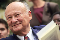 Former New York City Mayor Ed Koch