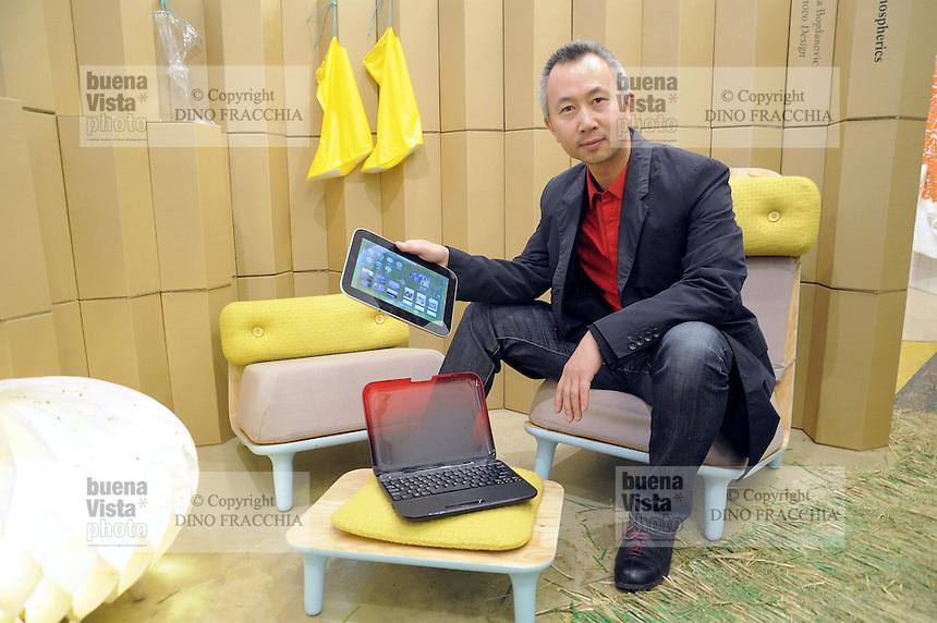 - Yao Yingjia , vice presidente e direttore generale del Centro per il Design e l'Innovazione del gruppo Lenovo<br /> <br /> -  Yao Yingjia, Lenovo group vice president and general manager of the Center for Design and Innovation