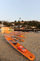 San Remo, Italy, Boat on the beach, FISA Coastal World Championships. Fri. 17.10.2008.[Photo, Peter Spurrier/Intersport-images] Coastal Rowing Course: San Remo Beach, San Remo, ITALY Equipment,
