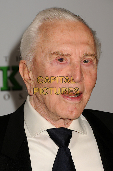KIRK DOUGLAS.20th Annual Producers Guild Awards at The Hollywood Palladium, Hollywood, California, USA..January 24th, 2009.headshot portrait mouth open .CAP/ADM/BP.©Byron Purvis/AdMedia/Capital Pictures.