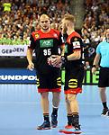 10.01.2019, Mercedes Benz Arena, Berlin, GER, Handball WM 2019, Deutschland vs. Korea, im Bild <br /> Paul Drux (GER #95), Matthias Musche (GER #37)<br /> <br />      <br /> Foto © nordphoto / Engler
