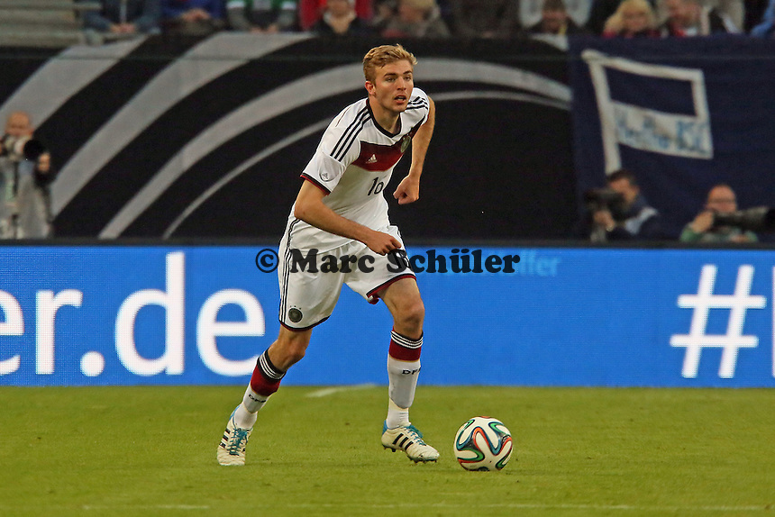 Christoph Kramer (D) - Deutschland vs. Polen, WM-Vorbereitung Testspiel, Imtech Arena Hamburg