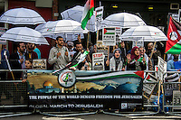 "07.06.2014 - ""The Global March to Jerusalem 2014"" in London"