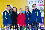 Gerry Griffin, Brid Stack, Eileen Switzer, Jean Courtney and Tom Doherty at  Kerry Expo in Killarney Community College on Friday Evening