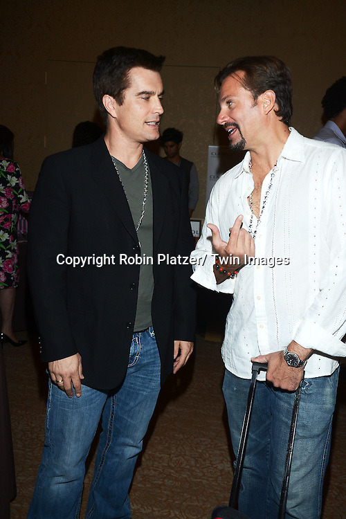 Rick Hearst and Paulo Benedeti attends the Gifting Suitefor the Daytime Emmy Awards by Off The Wall Productions on June 15, 2013 at the Beverly Hills Hotel in Beverly Hills, California.