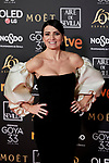 Silvia Abril attends to 33rd Goya Awards at Fibes - Conference and Exhibition  in Seville, Spain. February 02, 2019. (ALTERPHOTOS/A. Perez Meca)