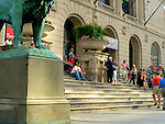 Infront Of The Art Institute