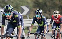 Nairo Quintana (COL/Movistar)<br /> <br /> 98th Milano - Torino 2017 (ITA) 186km