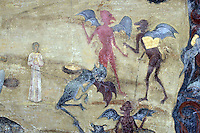 BG41211.JPG BULGARIA, RILA MONASTERY, CHURCH OF NATIVITY, frescoes