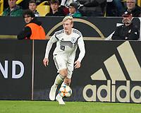 Julian Brandt (Deutschland Germany) - 09.10.2019: Deutschland vs. Argentinien, Signal Iduna Park, Freunschaftsspiel<br /> DISCLAIMER: DFB regulations prohibit any use of photographs as image sequences and/or quasi-video.